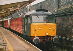 "Virgin Trains Class 47/8, 47812 ""Pride of Eastleigh"" (37190 ""Dalzell"") Tags: spoon brush crewe duff vt virgintrains sulzer class47 type4 redandgrey 47239 47812 class478 d1916 47657 prideofeastleigh"