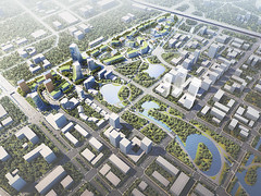 Проект квартала Taopu Sci-Tech City от Ennead Architects в Шанхае