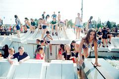 The Urban Seamaiden (dazolk) Tags: film streetphotography nikonf3 wetgirl truerussia