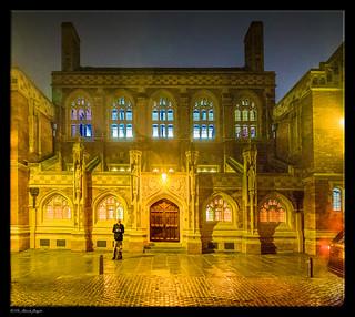 Man in Black - Colourful Cambridge [Explored]