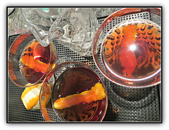 Enjoying 2017 (bigbrowneyez) Tags: cocktails drinks alcohol booze spirits 2017 liquor fancy delicious party celebration festa glass crystal magical happynewyear buon capp buoncappodanno january beginning anewbeginning enjoying2017 liquid striking stunning gold golden oro citrus peel patterns details repetition
