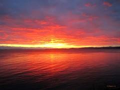 December Sunset 2 .... Explore (CanMan90) Tags: autumn december sunset dallasrd victoria britishcolumbia vancouverisland ocean juandefucastrait colours cans2s canon sd1200is pointshoot seascape reflections outdoors