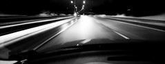 Highway 222. (Papa Razzi1) Tags: 8574 2017 009365 winter january melted 222 highway bw