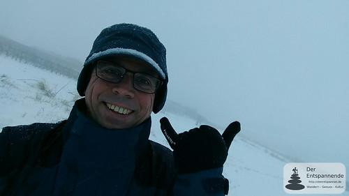 Schneetreiben überm Selztal