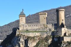 Château de Foix, Languedoc-Roussillon, France DSC 6043 (tango-) Tags: cathar catari castelli castle castello