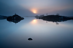 Loch Ba on Rannoch Moor (GlasgowPhotoMan) Tags: rannochmoor rannoch glencoe winter mist lochba bigstopper water longexposure graduatedneutraldensity scotland lochaber highlands