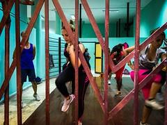 Santiago de Cuba. Cuba (H.L.Tam) Tags: cuban photodocumentary gym street streetphotography iphoneography sketchbook iphone6s cubasketchbook indoor documentary cuba iphone