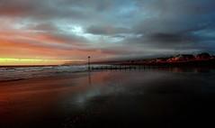 Mother Earth (plot19) Tags: mother earth sunset sunrise sun sky coast colour wales cymru borth uk britain british mood mountains plot19 photography landscape sea seascape beach