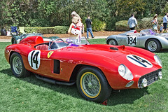 1956 Ferrari 290MM at Amelia Island 2015 (gswetsky) Tags: amelia island concours delegance antique ferrari 290mm 290 race european italian stirling moss