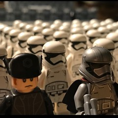 First order stormtrooper army teaser (Carson Tate) Tags: seven iiv episode awakens force army starwars starkiller wip moc stormtrooper firstorder lego