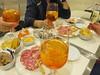 Italy - Liguria - Santa Margherita Ligure - Aperol spritz and tapas (JulesFoto) Tags: italy centrallondonoutdoorgroup clog ligure santamargheritaligure aperolspritz drink