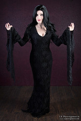 keeping it nerdy morticia 7 (CE Photogenetix) Tags: select morticia addamsfamily addams gothic goth cosplay costume halloween character portrait tv movie horror spooky creepy beauty beautiful woman female dark darkart gown canon40d christinaedwards