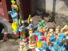 DSC01904 (bhagwathi hariharan) Tags: ganpati ganpathi lordganesha god nallasopara nalasopara pooja idols