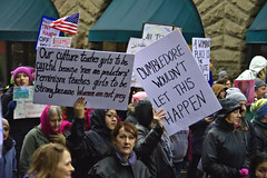America Marches In Protest (swong95765) Tags: message political protest people signs march crowd