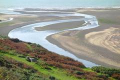 River's End (Dave Roberts3) Tags: glamorgan wales ogmorebysea bridgend river beach water sand bracken sea