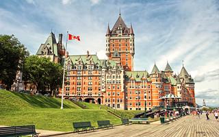Le Château Frontenac - Québec City (Québec, Canada)