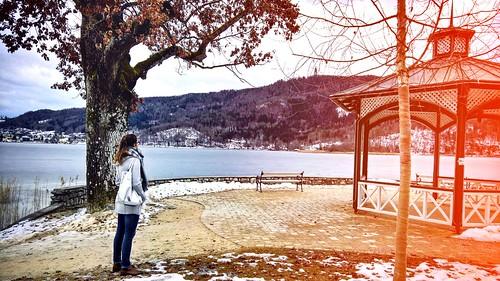winter, pörtschach #feb17 #winter #cold #winter17 #outside #me #girl #beautiful #wörthersee #carinthia #austria