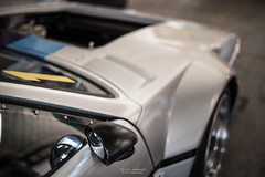 The brutal wheelarches of the BMW M1. (God_speed) Tags: park speed japanese star m1 wheels sydney australia racing retro bmw straight six 35 jdm motorsport litre mpower 2015 smsp speedfest m88