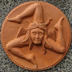 Sicilian Triskelion (JPaulTierney) Tags: terracotta sicily triskelion