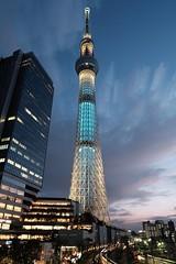 20150621_2532_2561 (Zengame) Tags: architecture illumination landmark illuminated iki 押上 oshiage 粋 skytree 東京スカイツリー tokyoskytree スカイツリー starstax