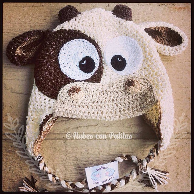 Free Crochet Pattern For Cow Hat : The Worlds newest photos of cow and crochet - Flickr Hive ...