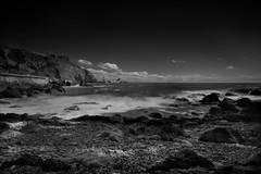 white water (Monography85) Tags: sea sky white black beach me water nikon rocks n sigma torquay scape grad 1020 lanscape
