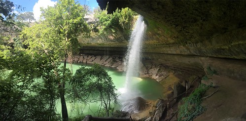 Waterfall at Hamilton Pool Preserve #jcutrer