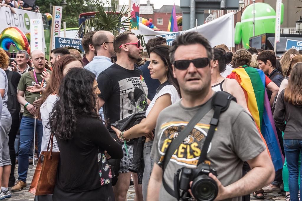 DUBLIN 2015 LGBTQ PRIDE PARADE [WERE YOU THERE] REF-106017