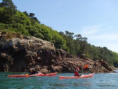le trieux en kayak