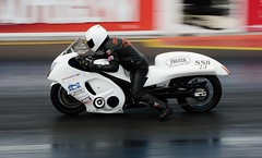 Pro Tech Suzuki (Fast an' Bulbous) Tags: santa summer england hot bike june race speed drag pod nikon track power gimp fast sunny motorbike strip motorcycle panning nationals motorsport qualifying acceleration d7100