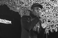 Kojey Radical @ The Hare & Hounds 2 (preynolds) Tags: blackandwhite mono concert birmingham poetry dof gig livemusic poet hiphop rap rapper kingsheath mark2 tamron2470mm canon5dmarkii counteractmagazine leftfootpromotions