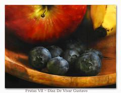 Frutas VII - Diaz De Vivar Gustavo (Diaz De Vivar Gustavo) Tags: arandanos amtioxidante manzana frutas naturaleza vitaminas azucares fructuosa banana platano frut macromondays