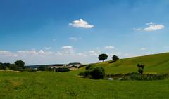 Landschaft (gutlaunefotos ☮) Tags: natur himmel grün landschaft