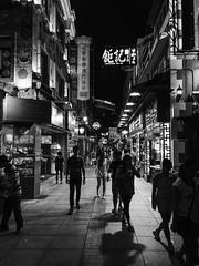 -- (Jonathan Ma.) Tags: street city travel blackandwhite 6 alley outdoor streetphotography cellphone hong kong macau kok mong iphone