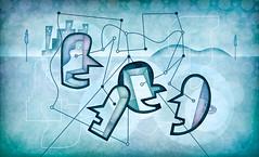 Ilustração para evento do Itaú (Daniel BUENOZINE) Tags: illustration work corporate idea banco bank event grupo abstraction conceptual talking ilustração trabalho equipe debate itaú conceitos conceitual abstração corporativo conversa idéia diálogo danielbueno
