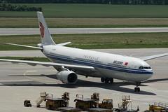 B-5919 (IndiaEcho Photography) Tags: vienna china canon eos austria airport aircraft aviation air aeroplane international civil airbus flughafen a330 airliner airfield schwechat 1000d b5919