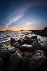 Sunset in Suvisaaristo (Test shots) (Mika Latokartano) Tags: sunset summer espoo finland archipelago