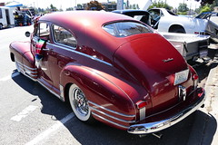 1948 Chevrolet Fleetline (bballchico) Tags: 1948 chevrolet johnvarela fleetline patronscarshow 206 washingtonstate patrons car club seattle