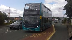 "Arriva Wales (Rhyl) ""Sapphire"",  Alexander Dennis Enviro 400,  CX14 BXK (4547) (NorthernEnglandPublicTransportHub) Tags:"