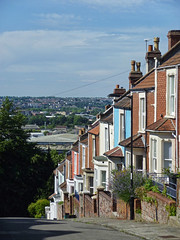 Bristol - Totterdown (fb81) Tags: road street uk greatbritain west bristol unitedkingdom south suburb residential steep totterdown