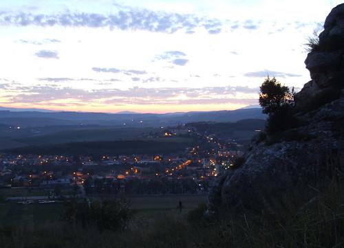 Spišské Podhradie at dusk, 19.08.2008.