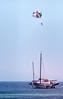 Parasailing (SteveInLeighton's Photos) Tags: transparency thailand boat april ilfochrome 1983 kohlarn chonburi kolan parasailing