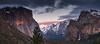 Last Rays (AgarwalArun) Tags: landscape scenic nature views mountains cliffs yosemite yosemitenationalpark nationalpark granitecliffs elcapitan sierranevada californiapark halfdome snowpeaks snow snowcovered sony7m2 sonyilce7m2 waterfall