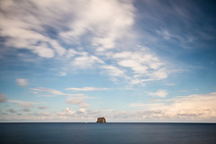 Stromboli 14 (gsamie) Tags: 600d aeolianislands canon guillaumesamie isoleeolie italy rebelt3i sicilia sicily stromboli vulcano clouds gsamie longexposure sea strombolicchio volcano italie it