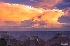 Stormy sunset (Toucaly) Tags: ifttt 500px united states amérique du nord arizona az canyon ciel coucher de soleil etatsunis eté grand lodge national park hilly landscape mesa north america rim orageux paysage valloné plateau sky stormy summer sunset us