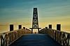 Vers un nouveau jour. (sergecos) Tags: perspective bois wood ponton pontoon leucate leverdesoleil sunrise hdr nikon d7000 ciel sky symétrie symmetry