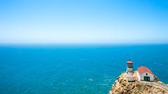 And What You Lost And What You Had And What You Lost (Thomas Hawk) Tags: america california marin pointreyes pointreyeslighthouse usa unitedstates unitedstatesofamerica westmarin westernmarin blue lighthouse fav10 fav25 fav50 fav100