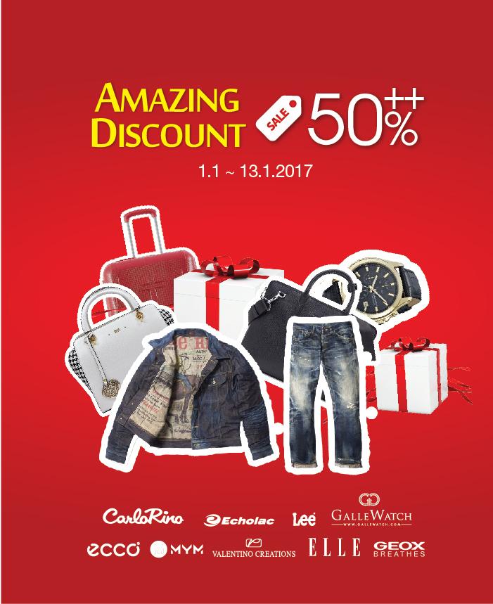 Amazing Discount 50% ++