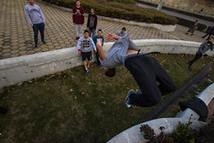 Layout (ivo.erev) Tags: freerun parkour layout backflip photography friends