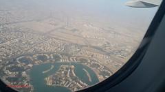 West Bay Lagoon from airplane (Doha-Qatar) (Feras.Qadoura) Tags: west bay lagoon doha qatar بحيرة الخليج الغربي الدوحة دولة قطر